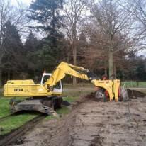 Bomen verplantmachine - Achterhoek